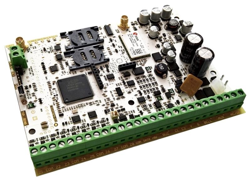 GSM volač/ústredňa ESIM384 - PCB