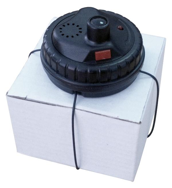 RF Spider Tag, Double Alarm, čierny, superzámok