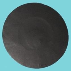 RF nálepka okrúhla 40mm, čierna 8,2MHz (1000ks)