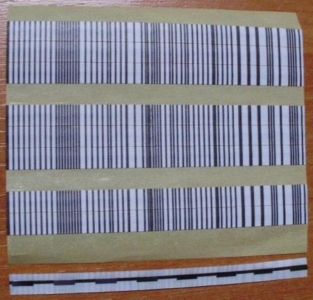 EM pásik 6x90mm, čiarový kód (balenie 1000ks)