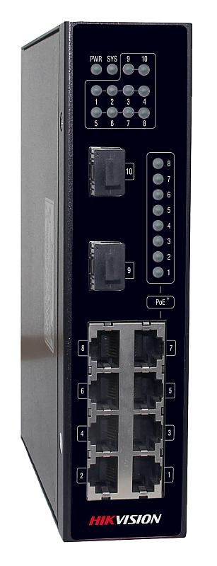 DS-3T0310P - PoE switch priemyselný