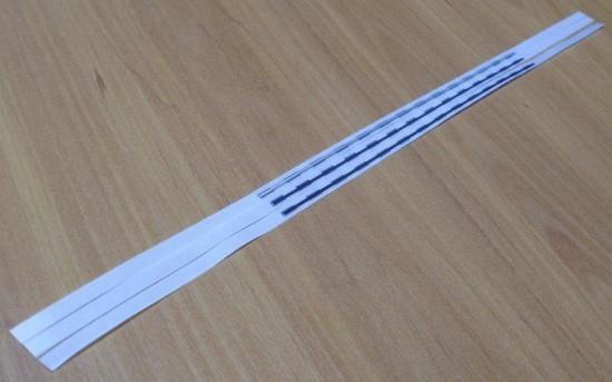 EM pásik 4x165mm, priehľadný, obojstranne lepiaci (balenie 1000ks)