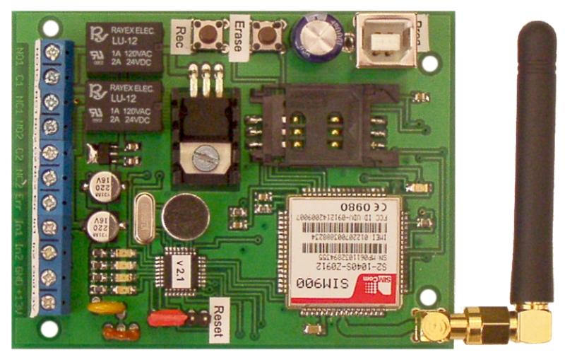 FVK-22 vox USB GSM - PCB
