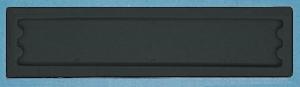 AM nálepka 2R, čierna (kartón 5000ks)