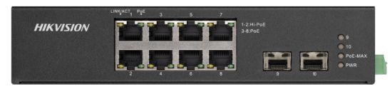 DS-3T0510HP-E/HS  - PoE switch priemyselný