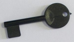 Náhradný plastový kľúč k PA tlačidlám
