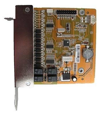 YaAL0804 - rozširujúca karta 8vst, 4výst. pre karty AL