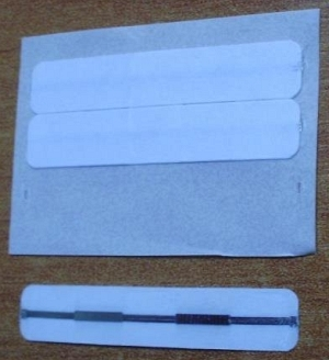 EM pásik 6x32mm, biely (balenie 1500ks)