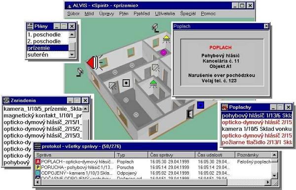 Vizualizačný softvér ALVIS /F~