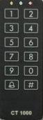 Nálepka pre klávesnice CT - čierna