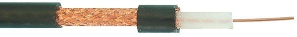 RG59 koaxiálny kábel 75 Ohm čierny (100m)