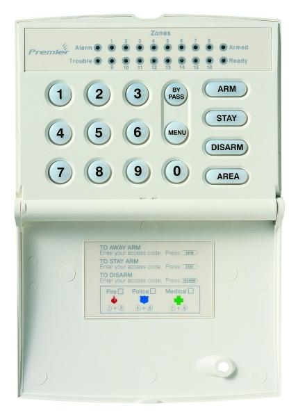 Premier RKP16 LED klávesnica