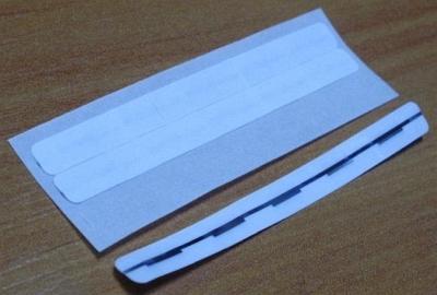 EM pásik 6x63mm, biely (balenie 1500ks)