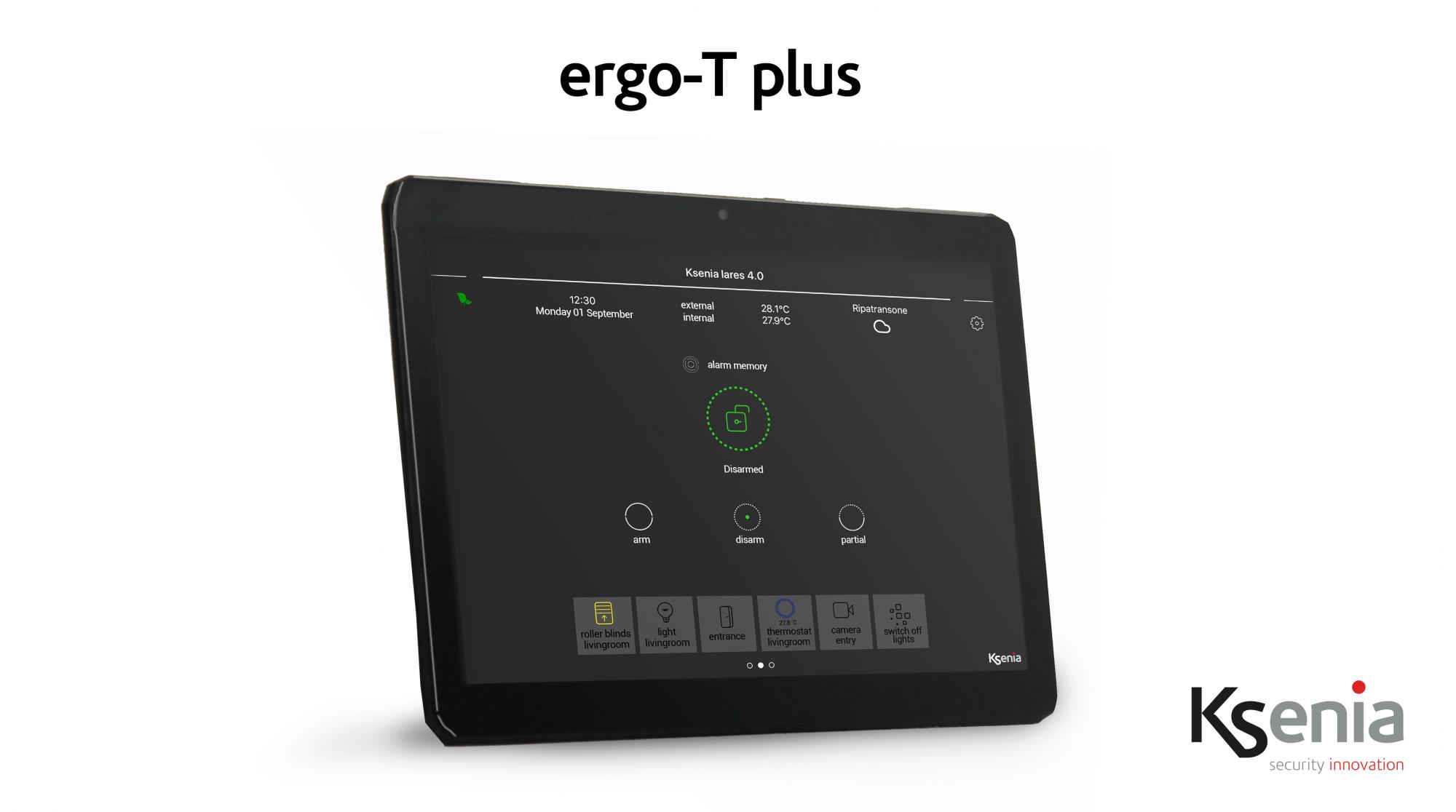 grafická klávesnica ergo T plus