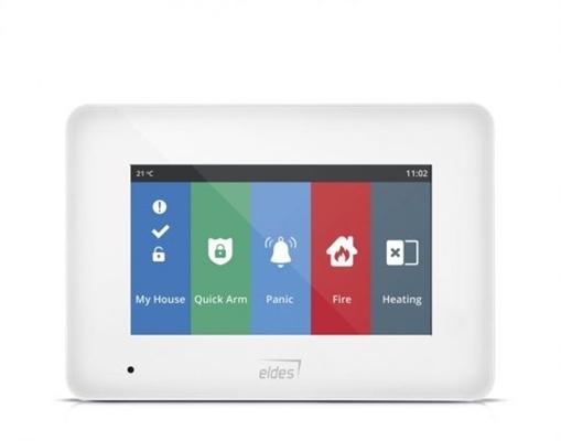 EWKB5 - Bezdrôtová grafická dotyková klávesnica, biela