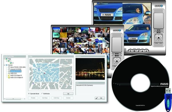 SCB-IP64 softvér pre podporu 64 IP kamier