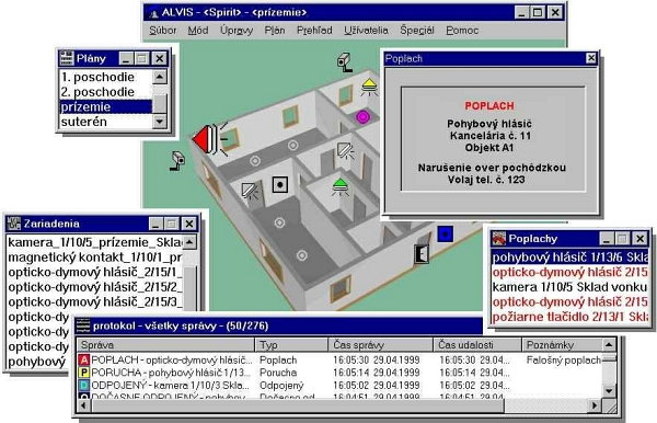 Vizualizačný softvér ALVIS /300