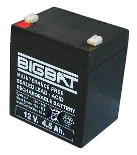BigBat 12V/4,5Ah