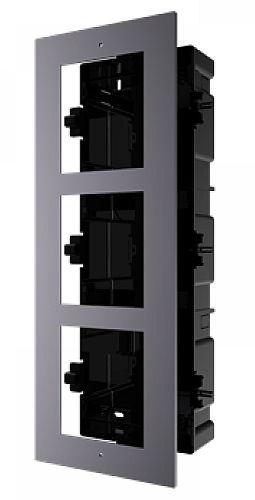 DS-KD-ACF3 - zápustný rámček 3 moduly