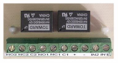 VRO 2 - výstupný reléový obvod