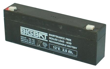 BigBat 12V/2,0Ah