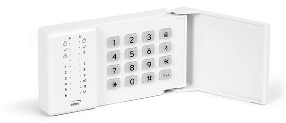 EWKB4 - Bezdrôtová LED klávesnica, biela