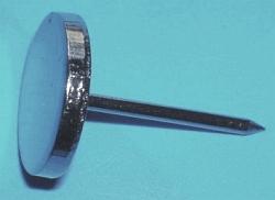 Kovový špendlík 16mm pevná hlavička hladký (100ks)