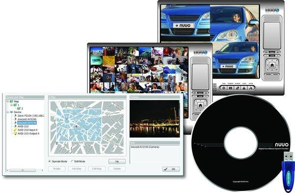 SCB-IP08 softvér pre podporu 8 IP kamier