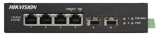 DS-3T0506HP-E/HS  - PoE switch priemyselný