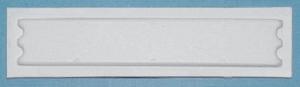 AM nálepka 2R, biela (kartón 5000ks)