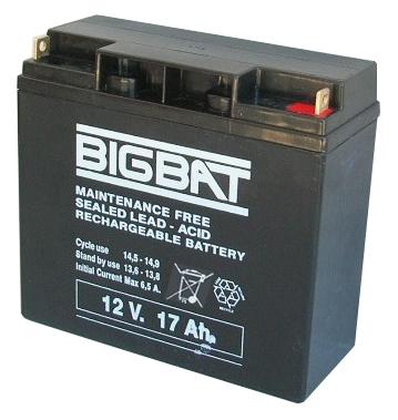 BigBat 12V/17Ah