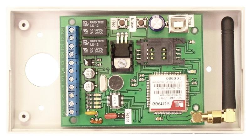 FVK-22 vox USB GSM - v plastovej skrinke