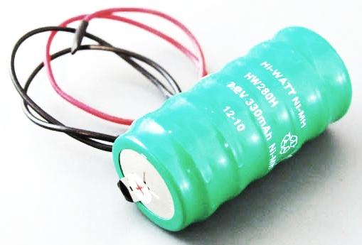 Náhradný AKU pack do sirén CQR (Ni-MH, 7,2V/330mAh)