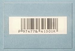 AM nálepka na fľaše, riasenky s čiarovým kódom (1000ks)