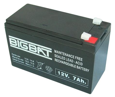 BigBat 12V/7,0Ah