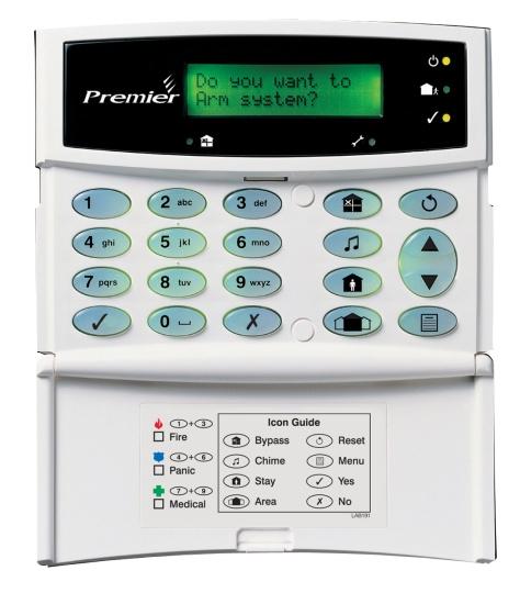 Premier RKPL25 LCD klávesnica