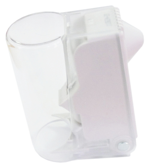 RF/AM BottleLox, superzámok, transparent/sivý