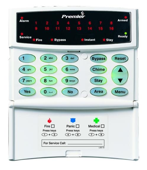 Premier RKP16 Plus LED klávesnica