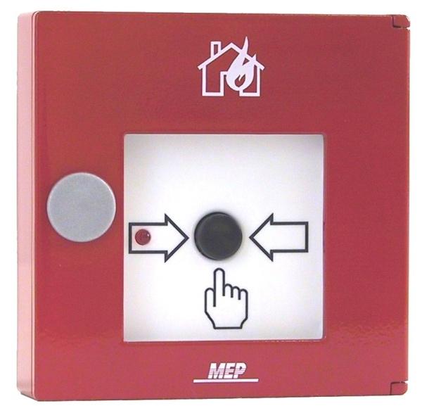 Tlačidlový detektor ADM SS s izol. - HFM/3/25/02