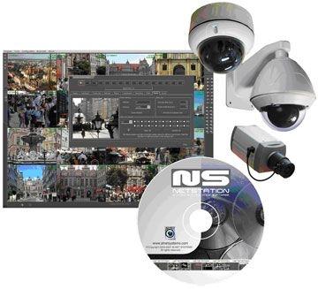 NetStation -základná licencia pre podporu 4 IP kamier + HW kľúč