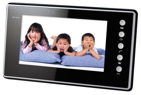 G9 - vnútorný panel so záznamom, čierny